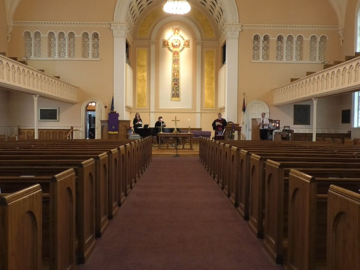 One Watertown church takes to the web and airwaves, streams Sunday service