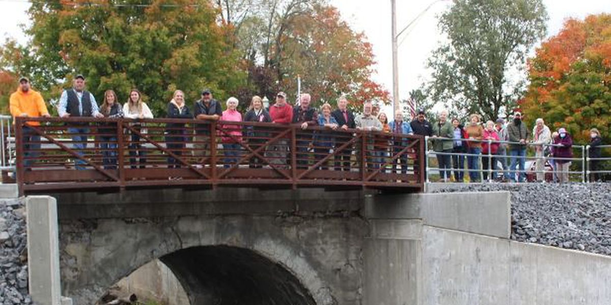 Town of Hermon bridge finished after years of work