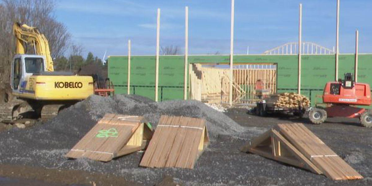 Construction collapses at future Dollar General in Copenhagen