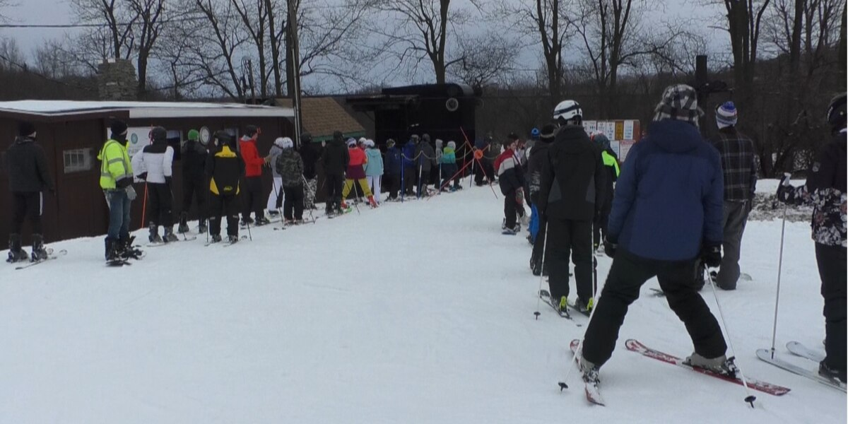 Business is booming as Dry Hill Ski Resort opens for the year