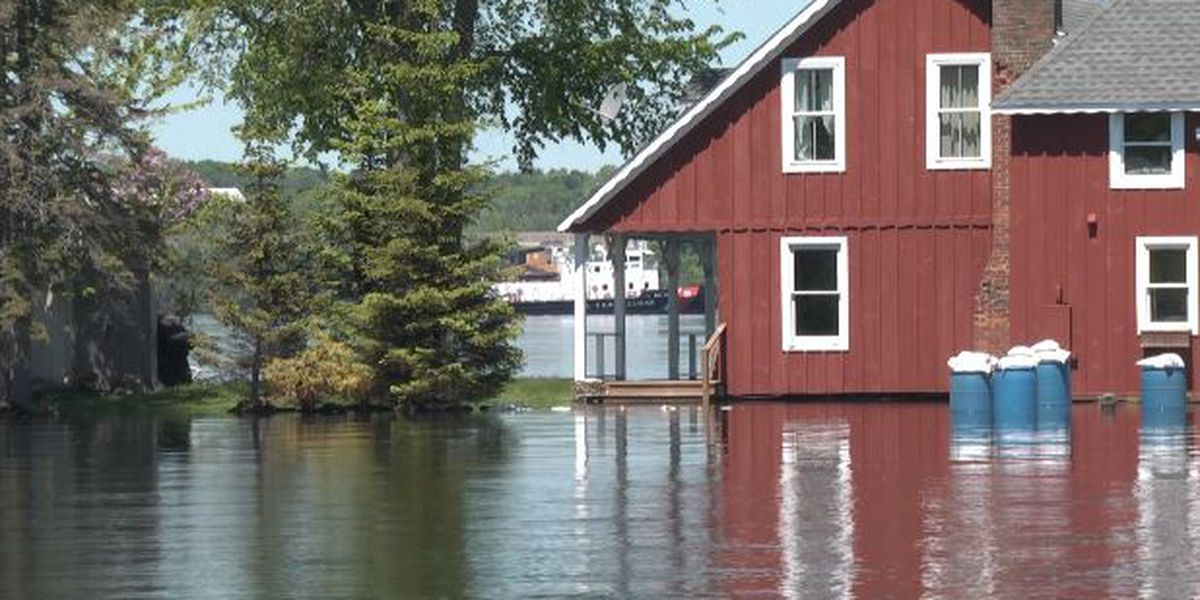 Officials discuss future flooding on St. Lawrence River