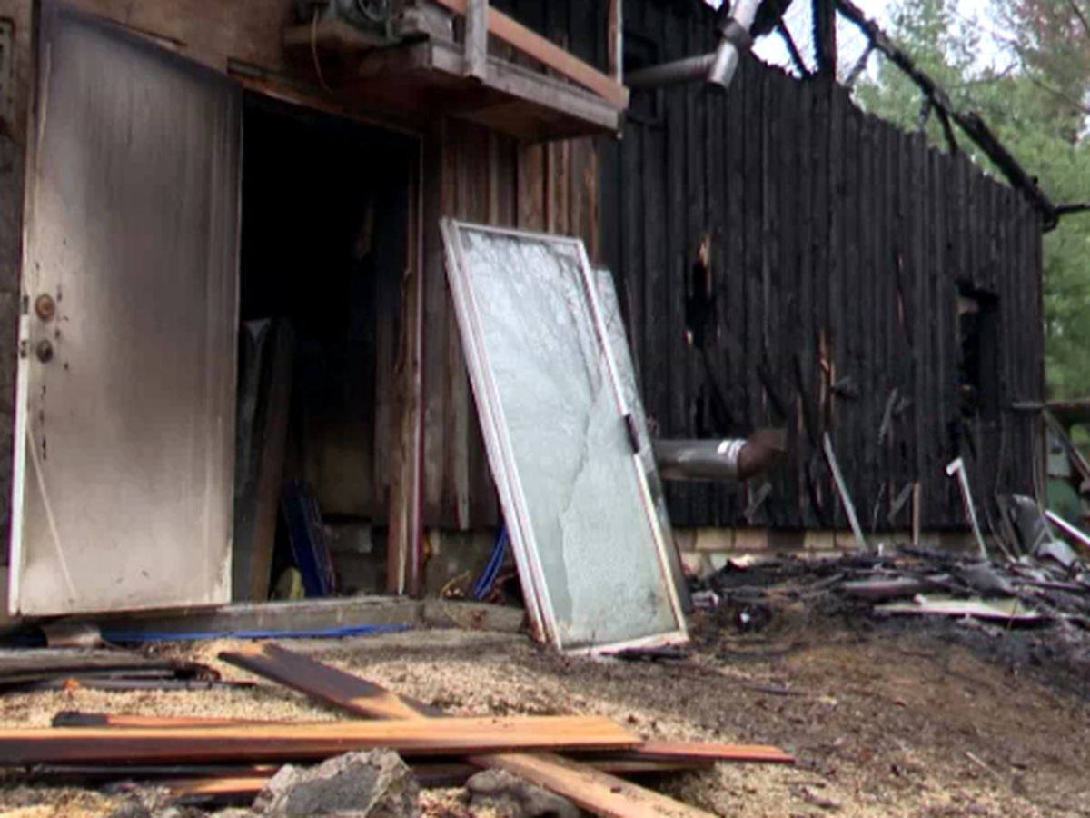 Fire guts Norfolk garage & workshop