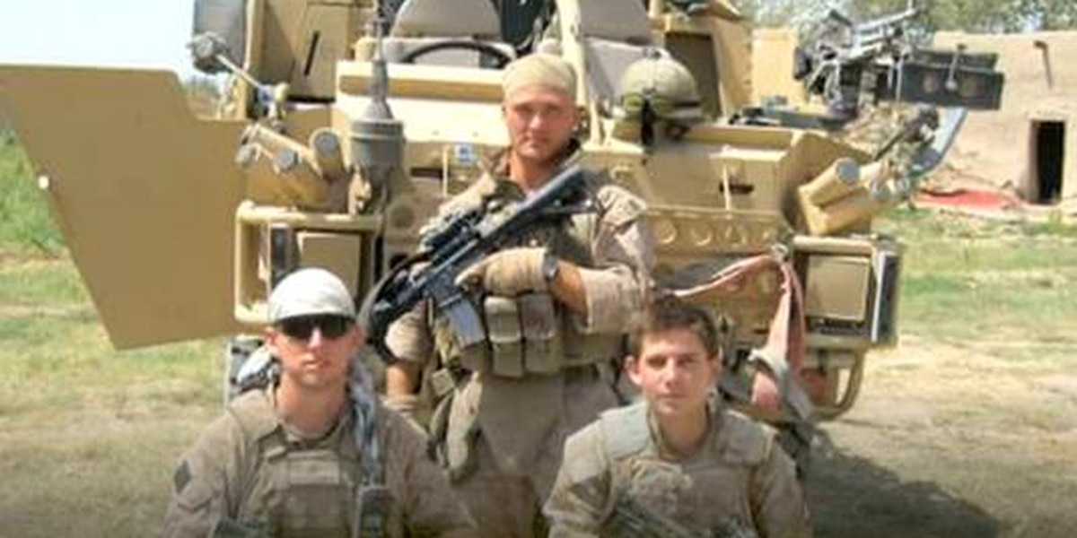 American Heroes - Matthew Pelc - wounded in action
