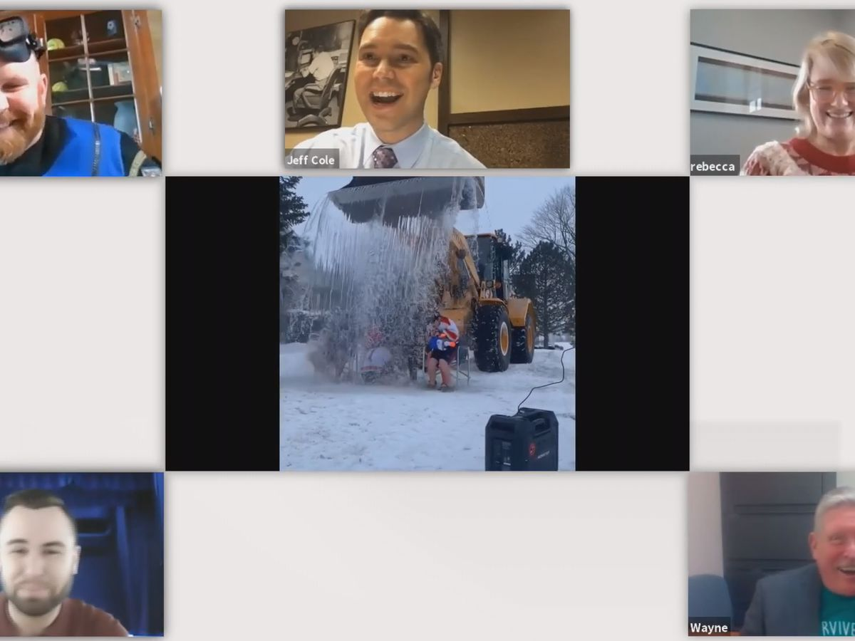 River Hospital's Virtual Polar Bear Dip