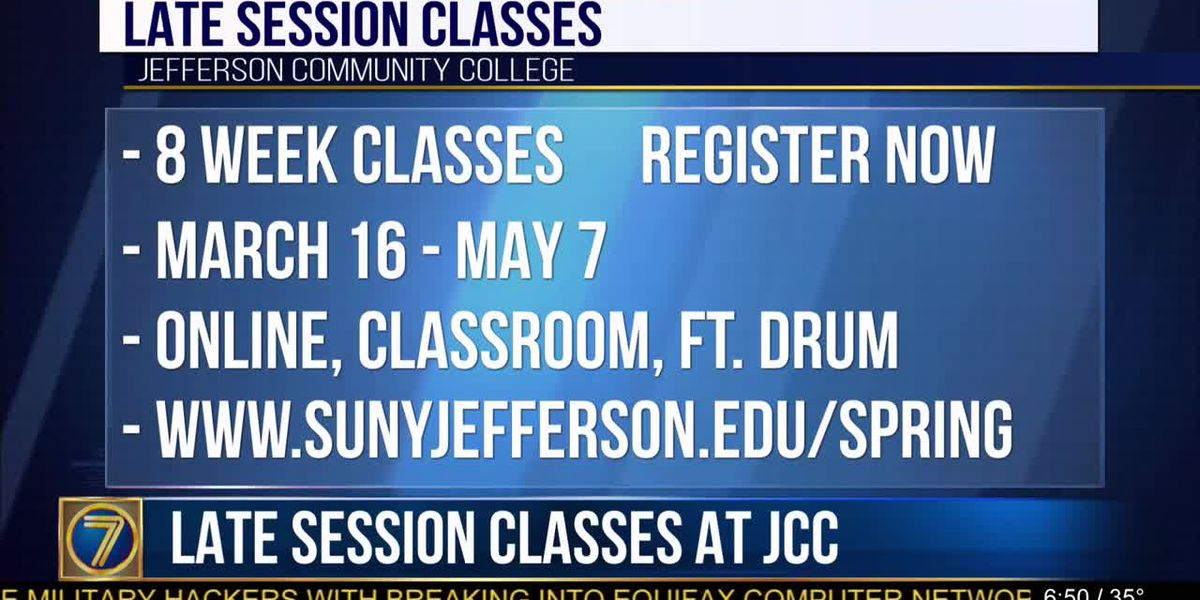 JCC offers late session classes