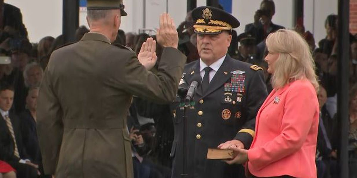 Former Fort Drum general becomes chairman of the Joint Chiefs of Staff