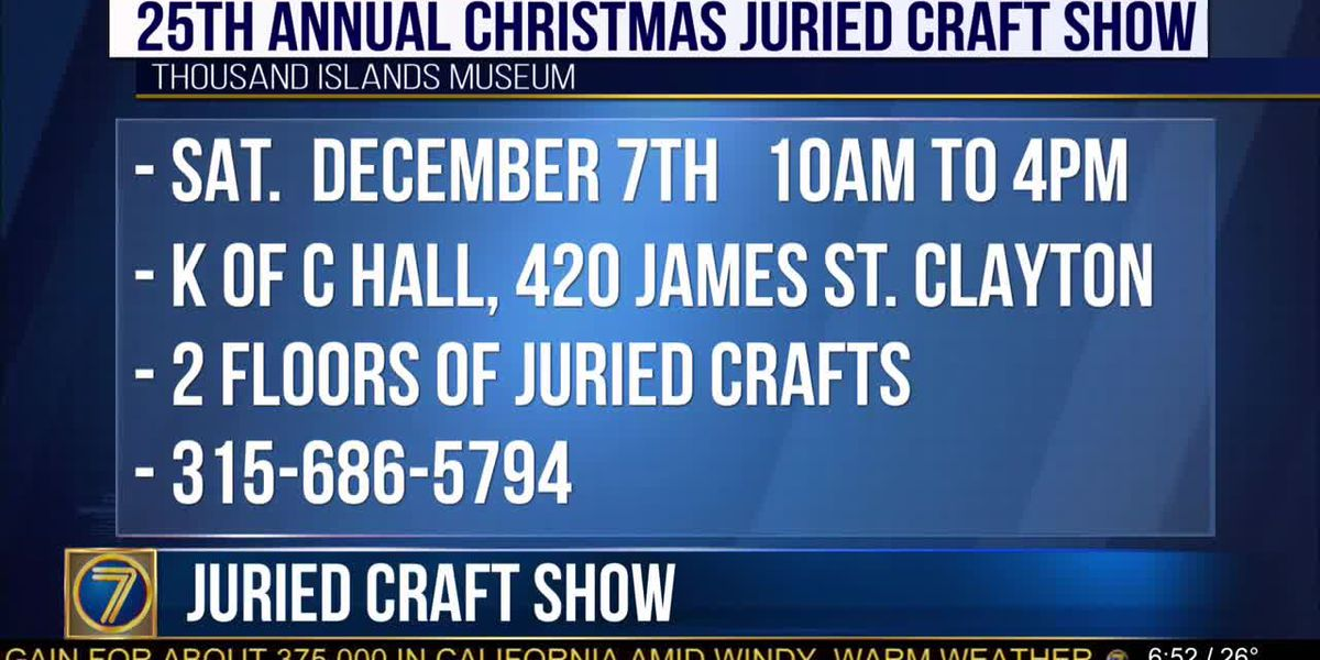 T.I. Museum juried craft show coming soon