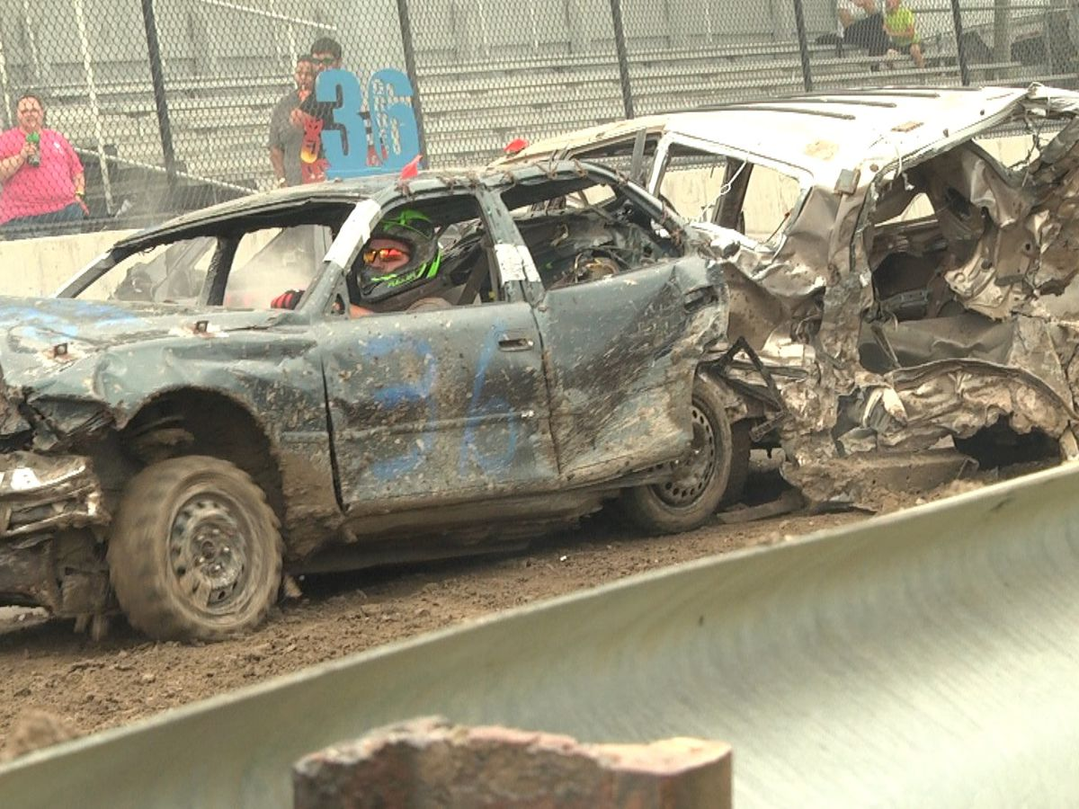 SMASH! CRASH! Lewis County Fair goes out with a bang