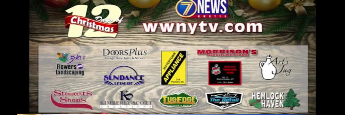 WWNY 12 Days of Christmas Giveaway: here's how to win gift cards, merchandise