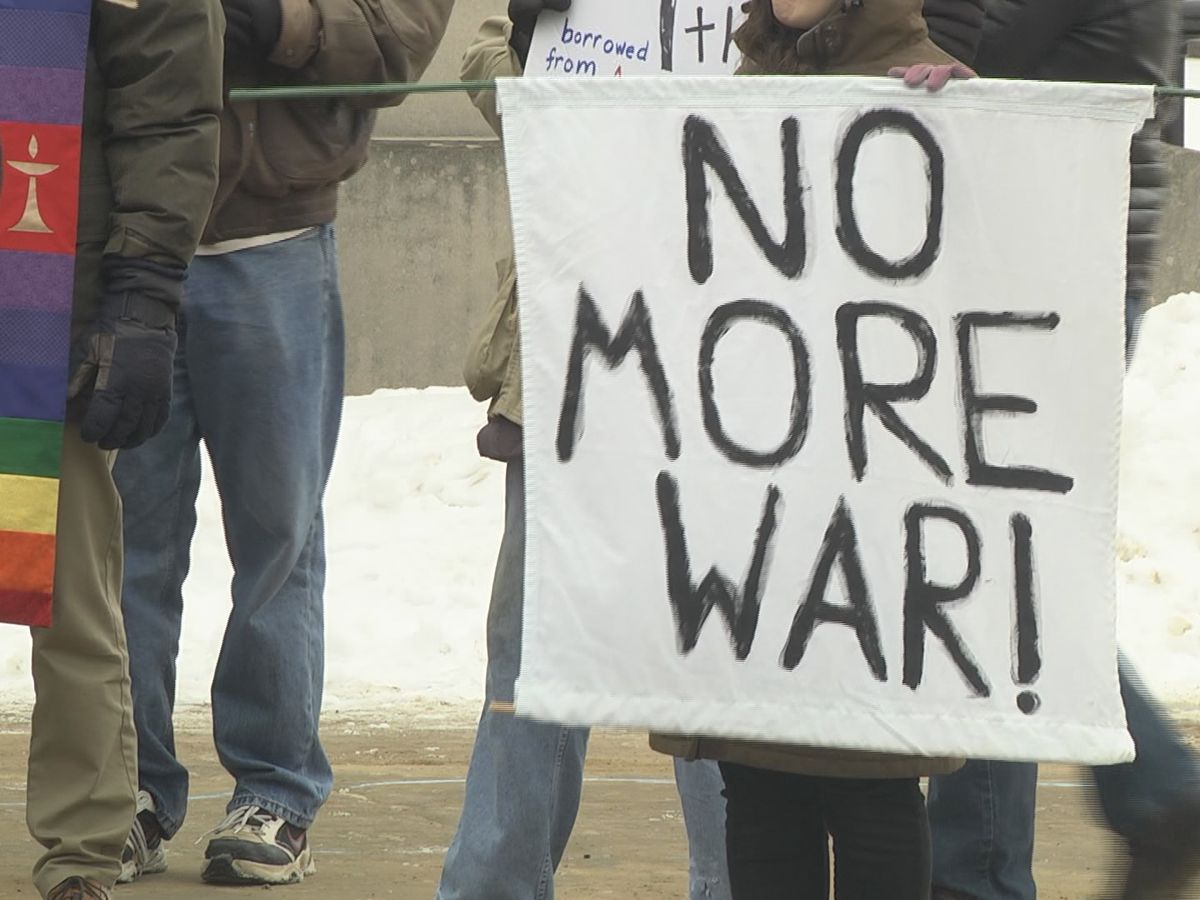 Saturday: Potsdam protest against potential war with Iran