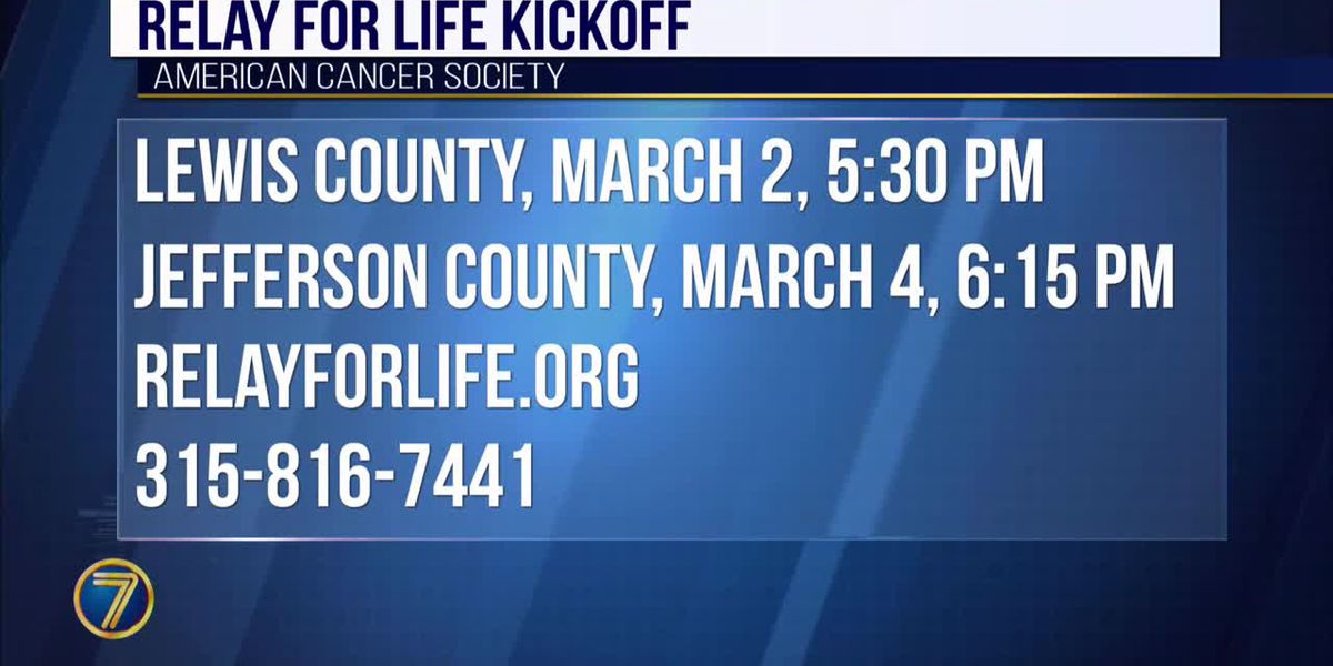 Kickoff events planned for Relay For Life