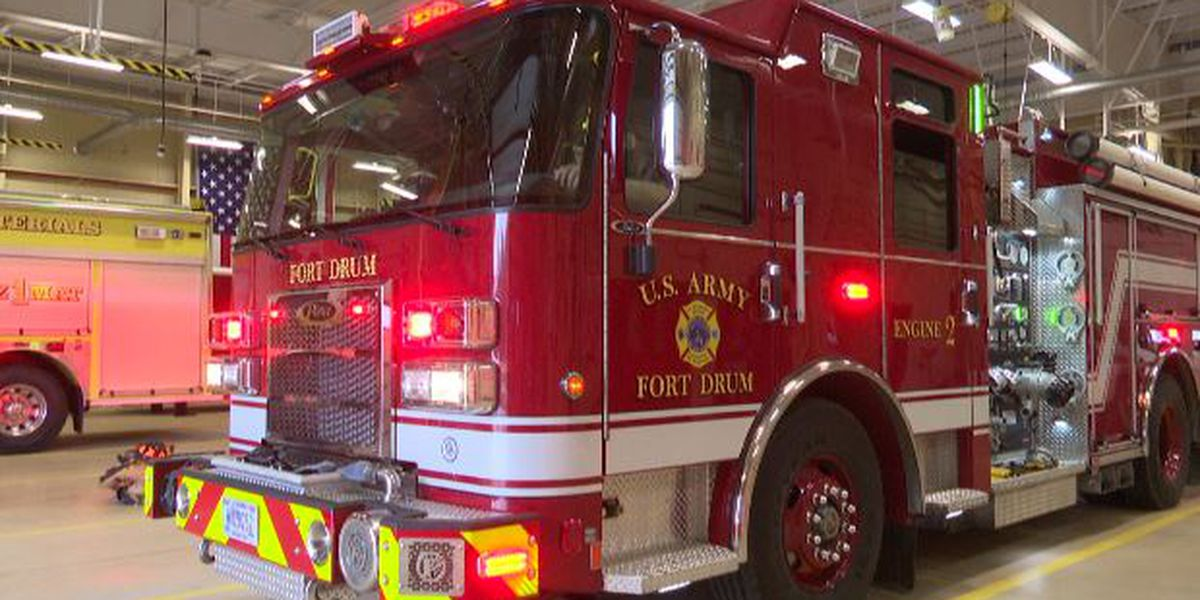New engine helps Fort Drum firefighters