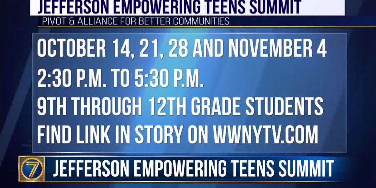 Jefferson County teens invited to virtual summit