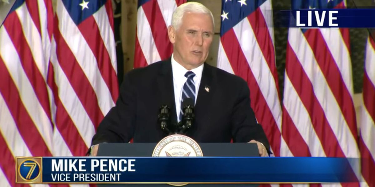 WATCH LIVE: Vice President Pence visits Fort Drum