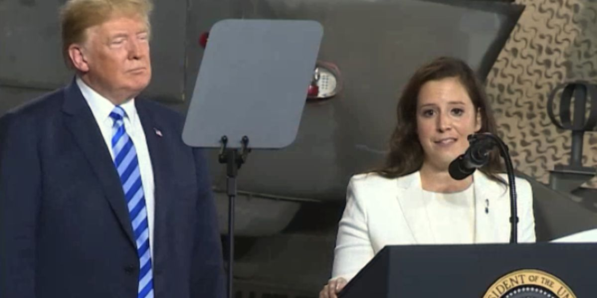 Trump congratulates Stefanik for gaining leadership post