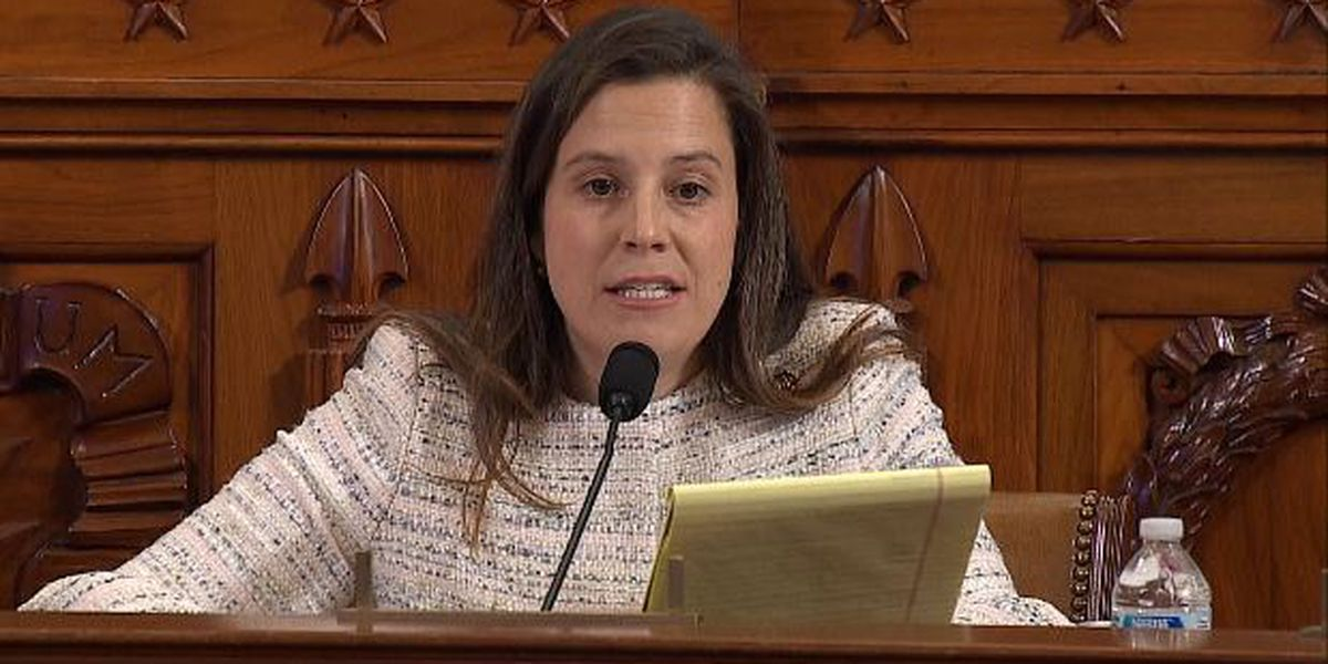 Stefanik questions Sondland during Wednesday's impeachment hearings