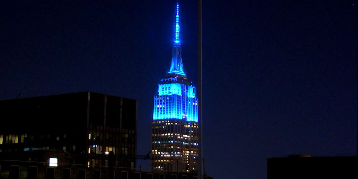 Empire State Building lit up for Lennon's 80th birthday