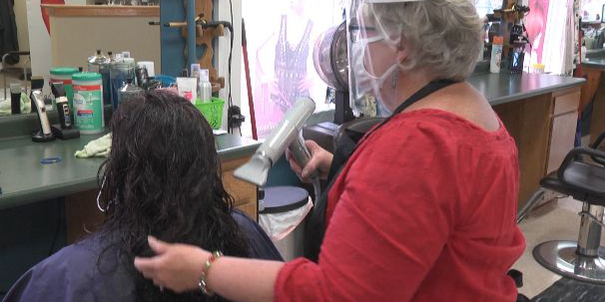 Hair salons work to keep clients safe from COVID-19