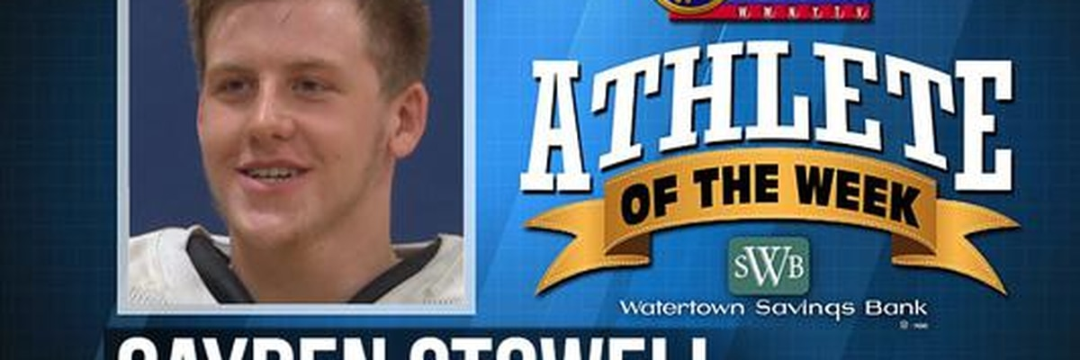 Athlete of the Week: Cayden Stowell