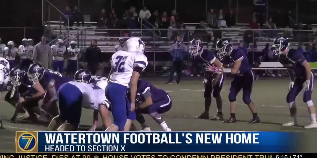 A new era as Watertown football program heads to Section 10