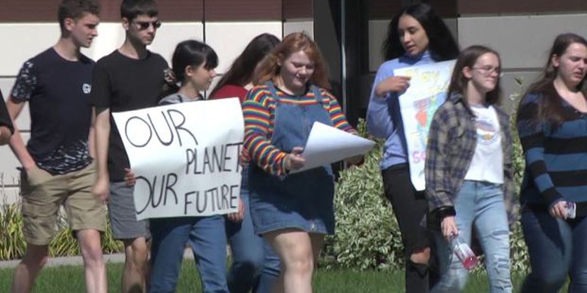 Potsdam students protest climate change