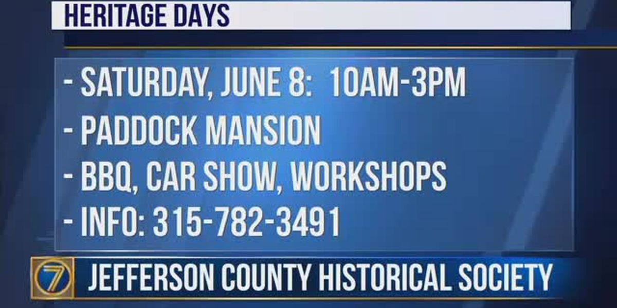 Heritage Day is Saturday at Jefferson County Historical Association