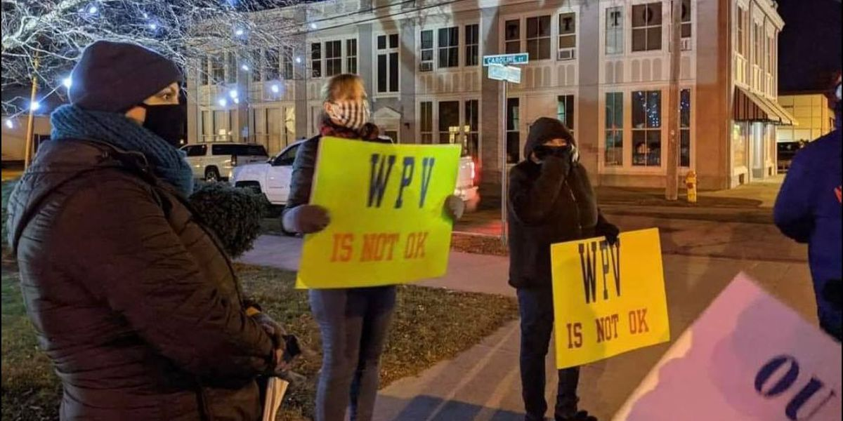 Demonstration draws attention to workplace violence at Ogdensburg City Hall