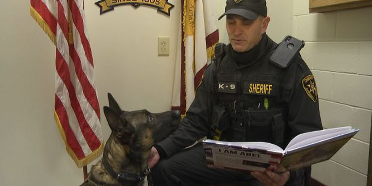 Sheriff's deputy writes children's book about his K-9