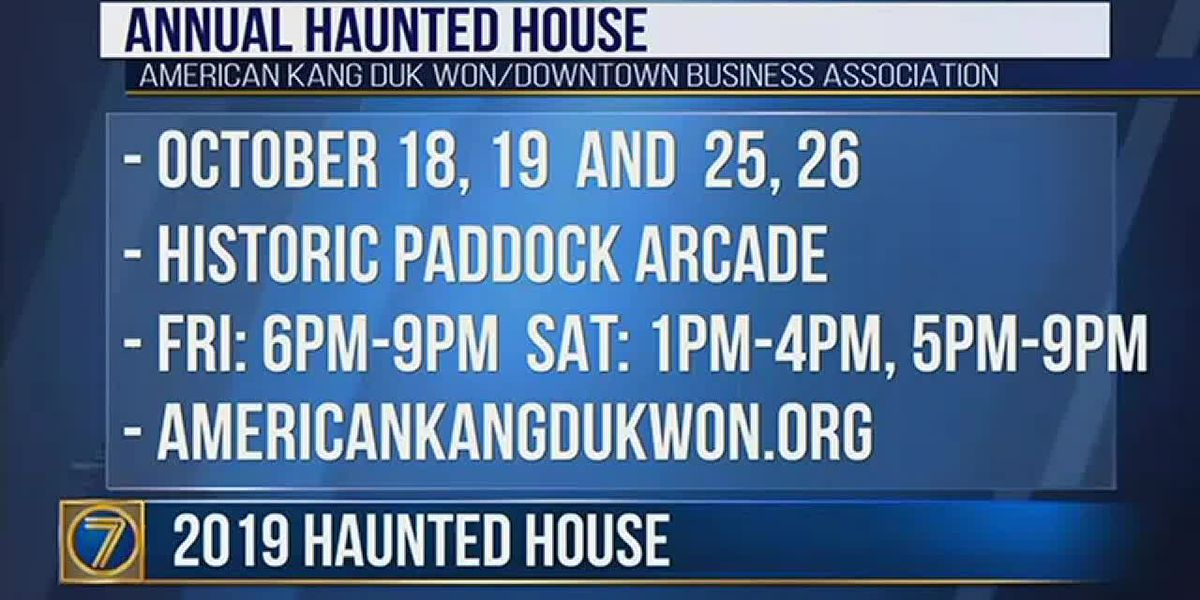 Classic monsters highlight annual haunted house