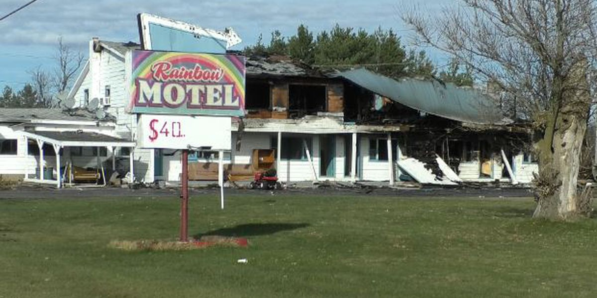 Rainbow Motel fire believed to be unsuspicious