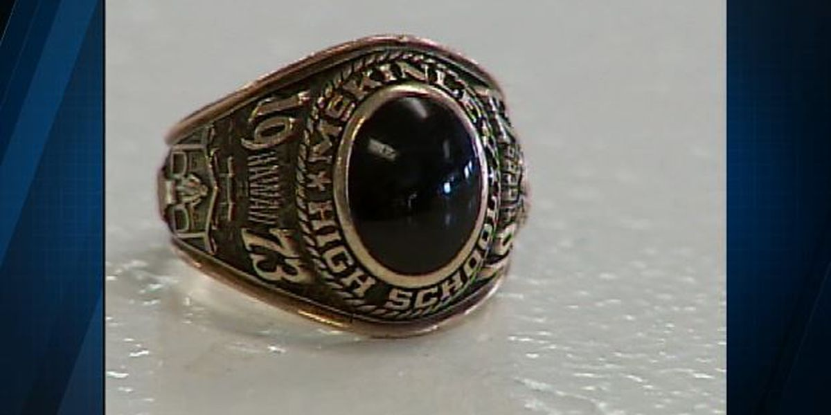 Blast from the Past: class ring reunited with owner