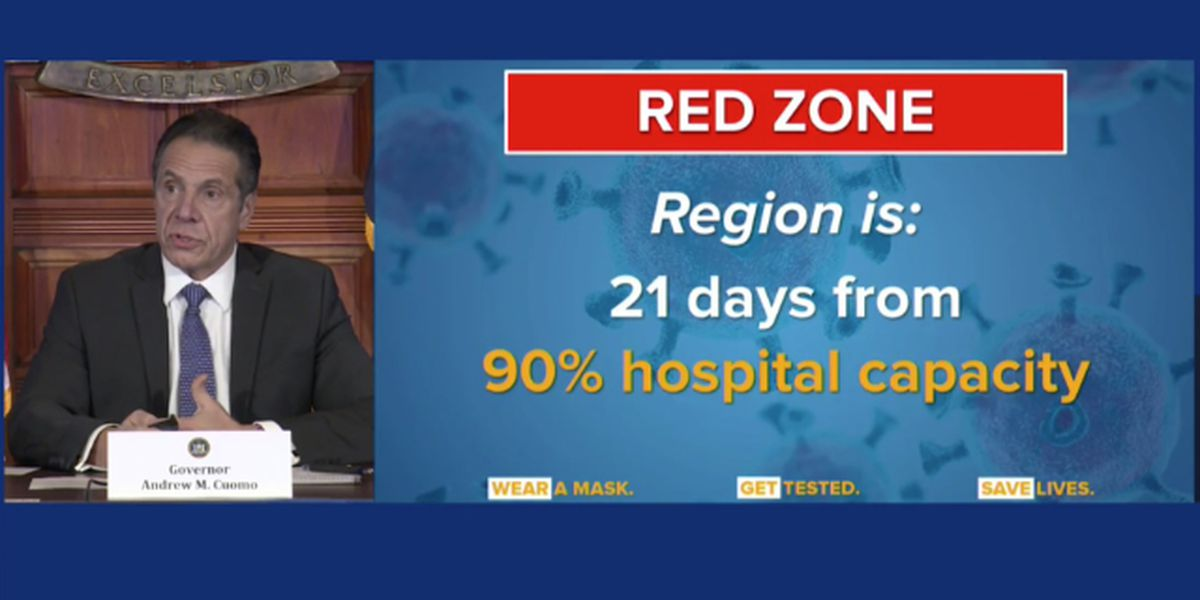 State recalibrating hotspot zones to prevent hospitals from being overwhelmed