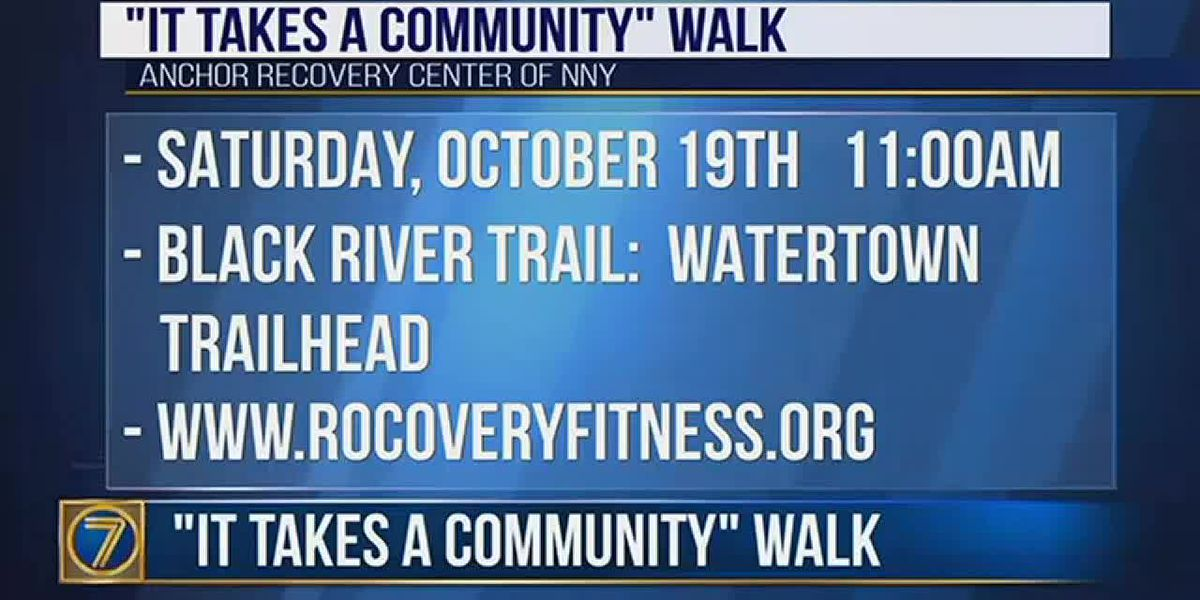 'It Takes a Community' walk this weekend