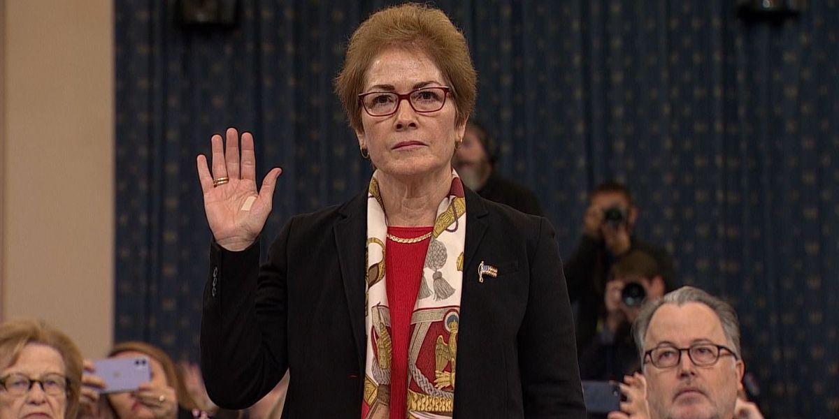Impeachment hearing update: former ambassador testifies