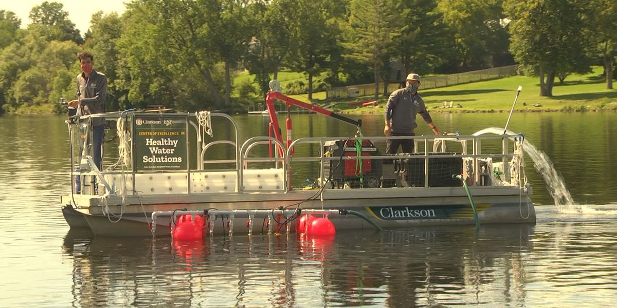 Bloom Busters: Clarkson students take the fight to harmful algae