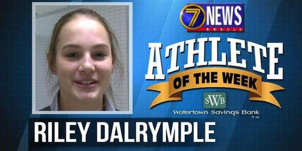 Athlete of the Week: Riley Dalrymple