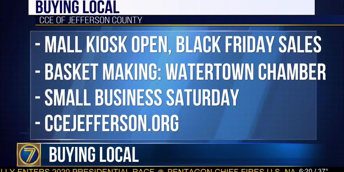 Buy local at Cooperative Extension mall kiosk
