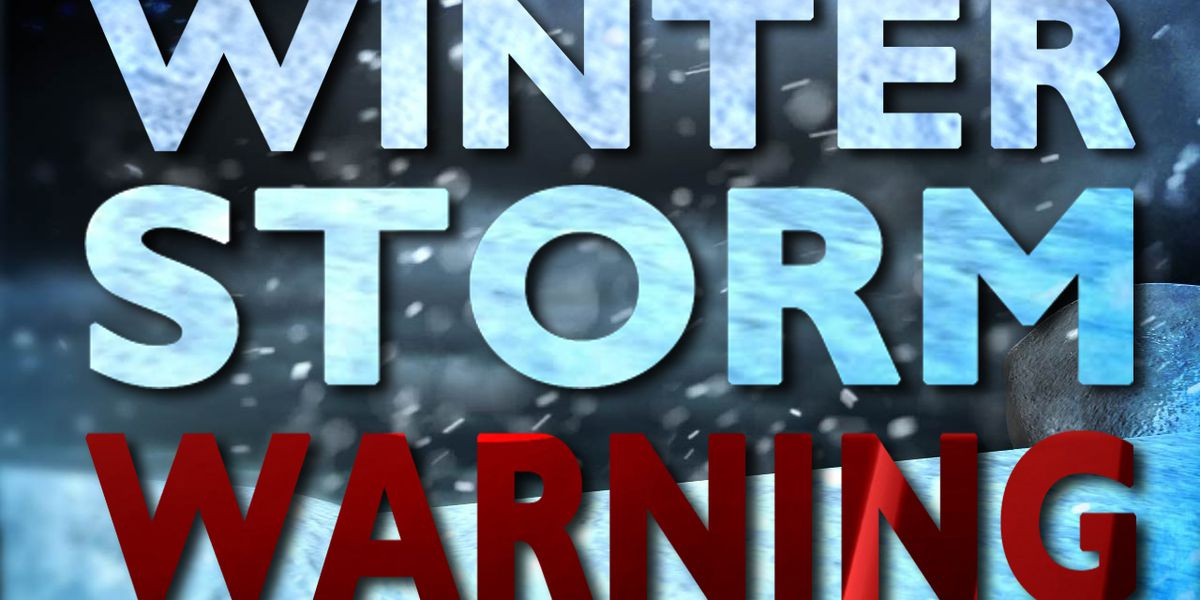 Winter storm warnings issued for Jefferson, Lewis, St. Lawrence counties