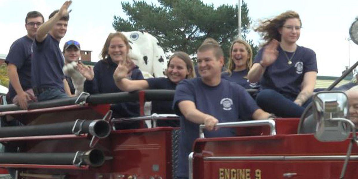 Canton Fire Department celebrates milestone with parade