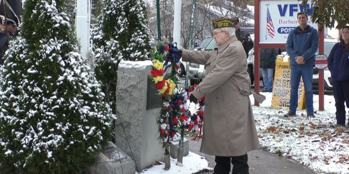 Watertown honors veterans with 2 traditions