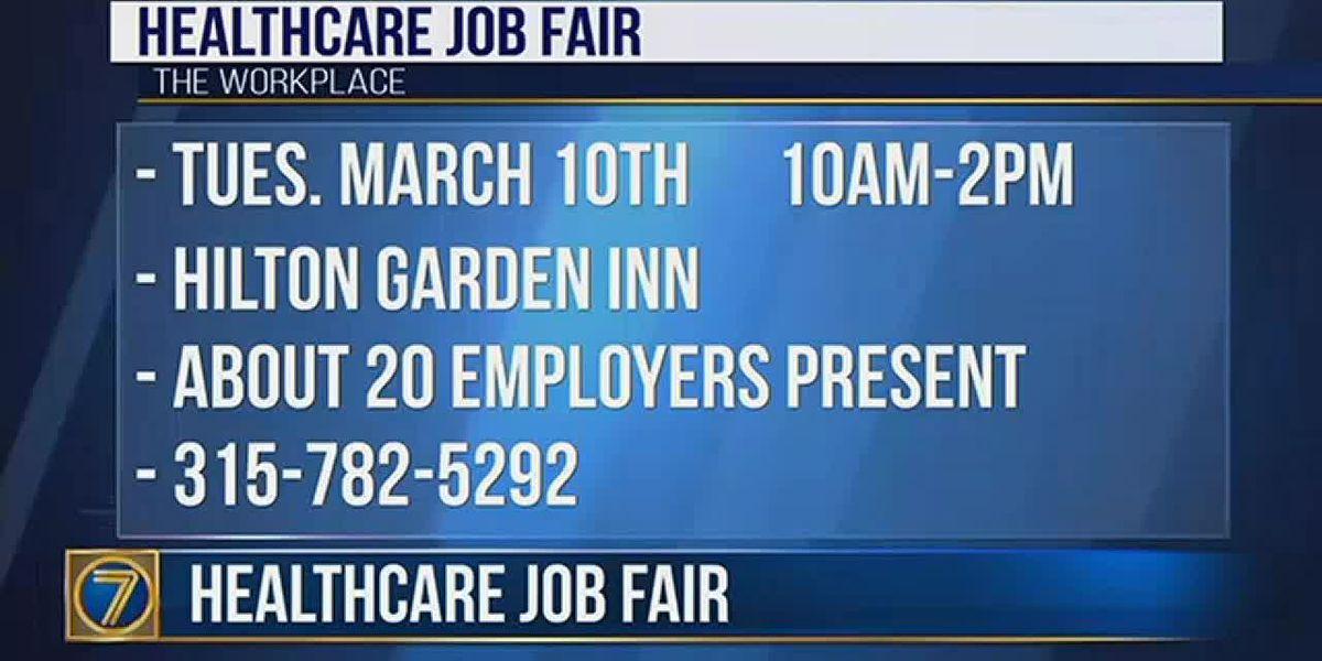 Healthcare job fair next week