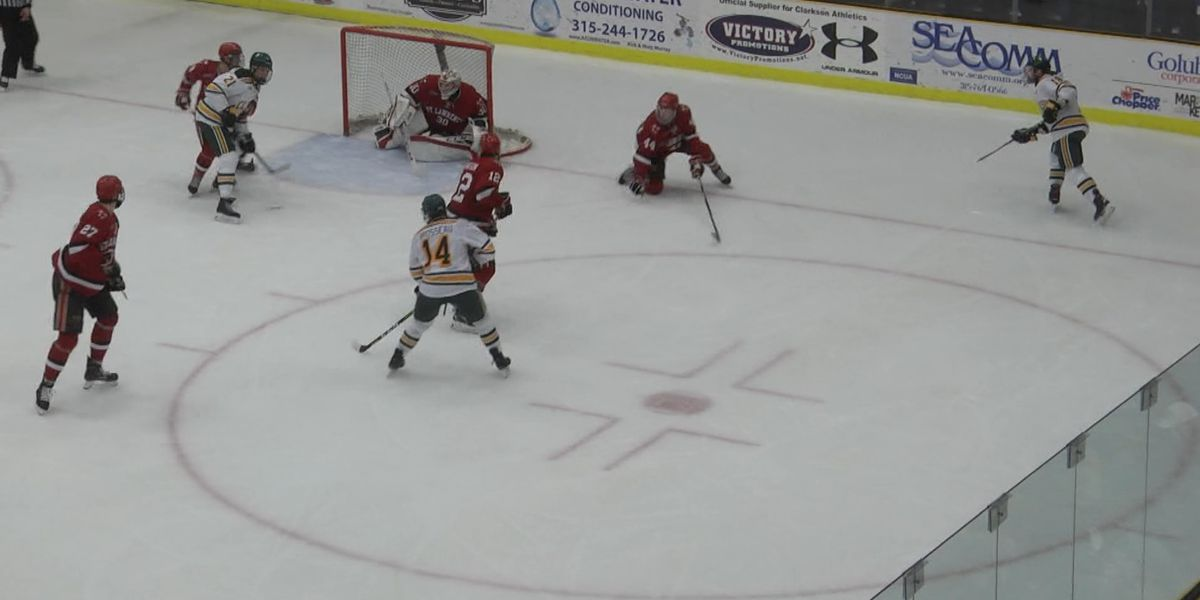 Saturday Sports: Clarkson Hockey comes out on top of Route 11 rivalry