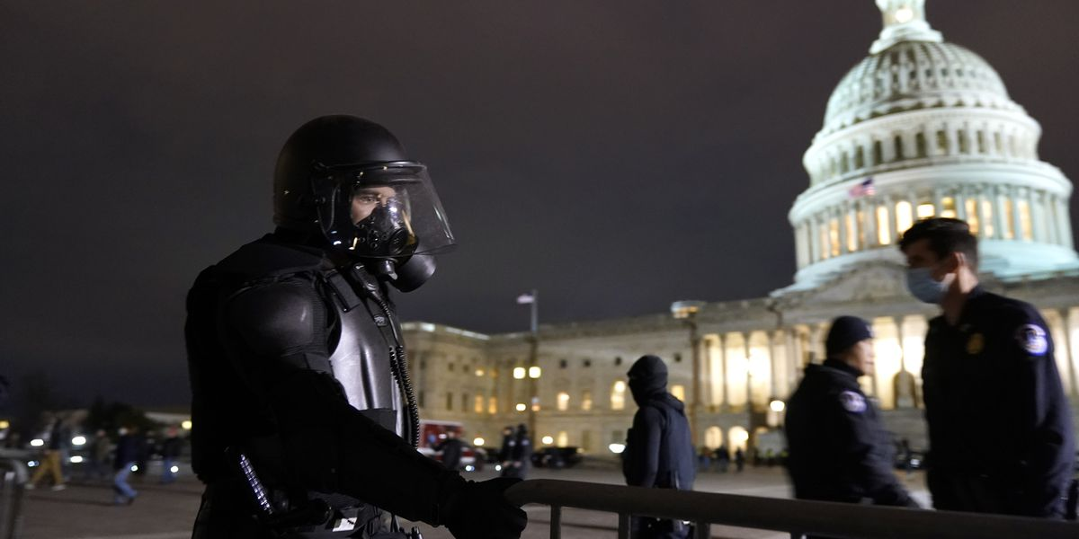 Woman dies after being shot in U.S. Capitol, curfew imposed in Washington