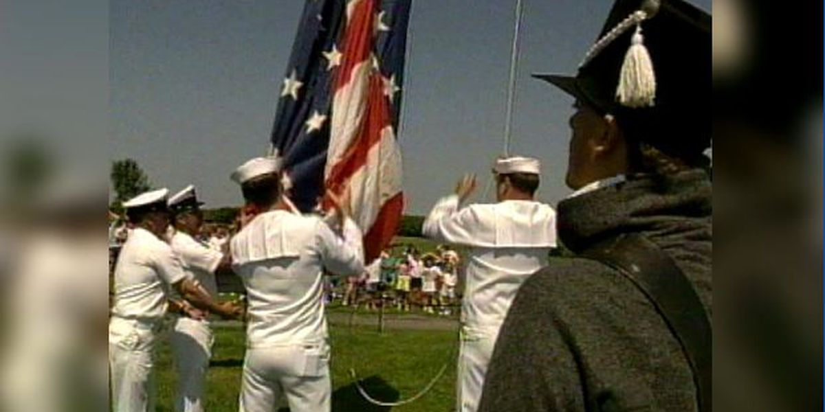 Blast From The Past: Flag Day celebration