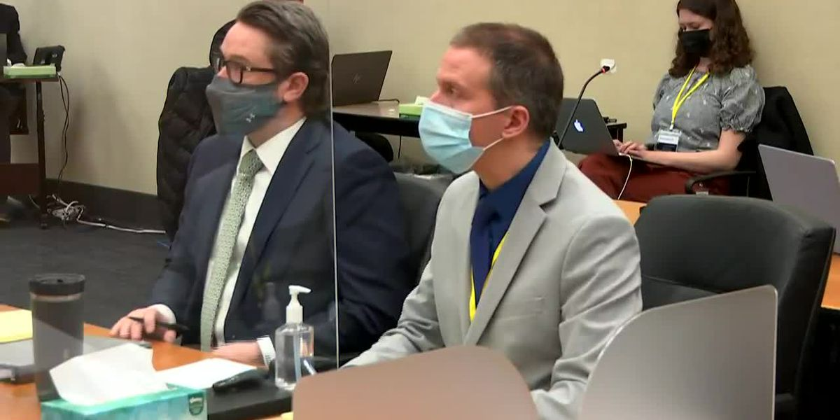 Chauvin trial: Closing arguments begin