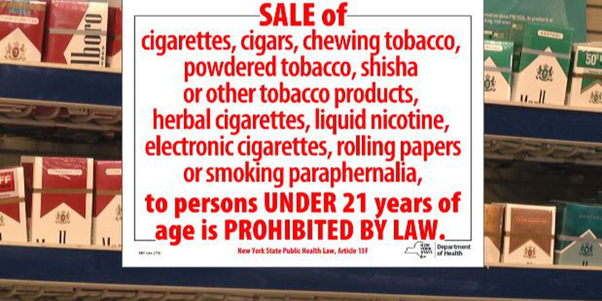 Local shop owners upset NY didn't tell them about tobacco law change