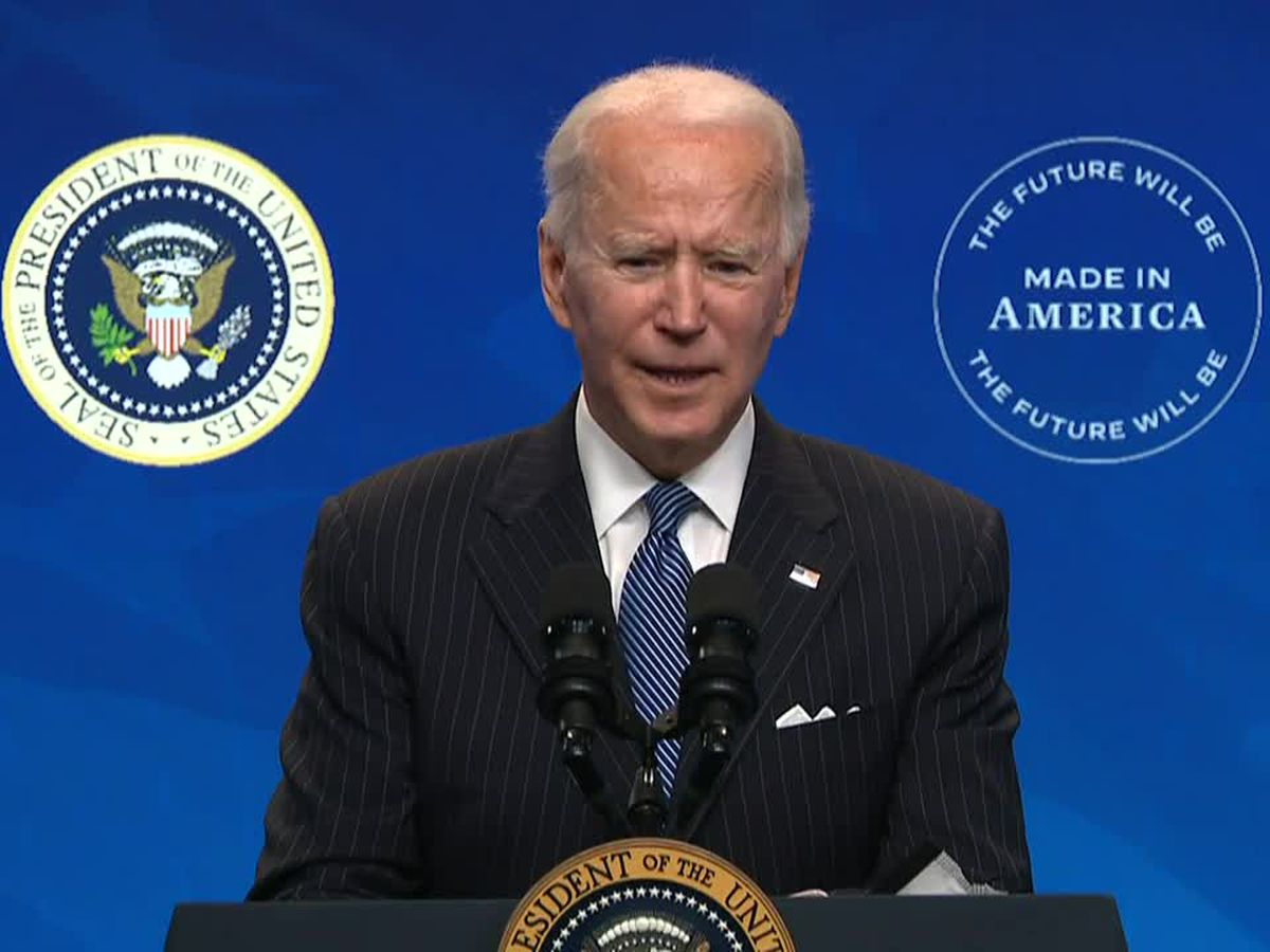 Biden more bullish on vaccines, open to 1.5 million daily shot goal