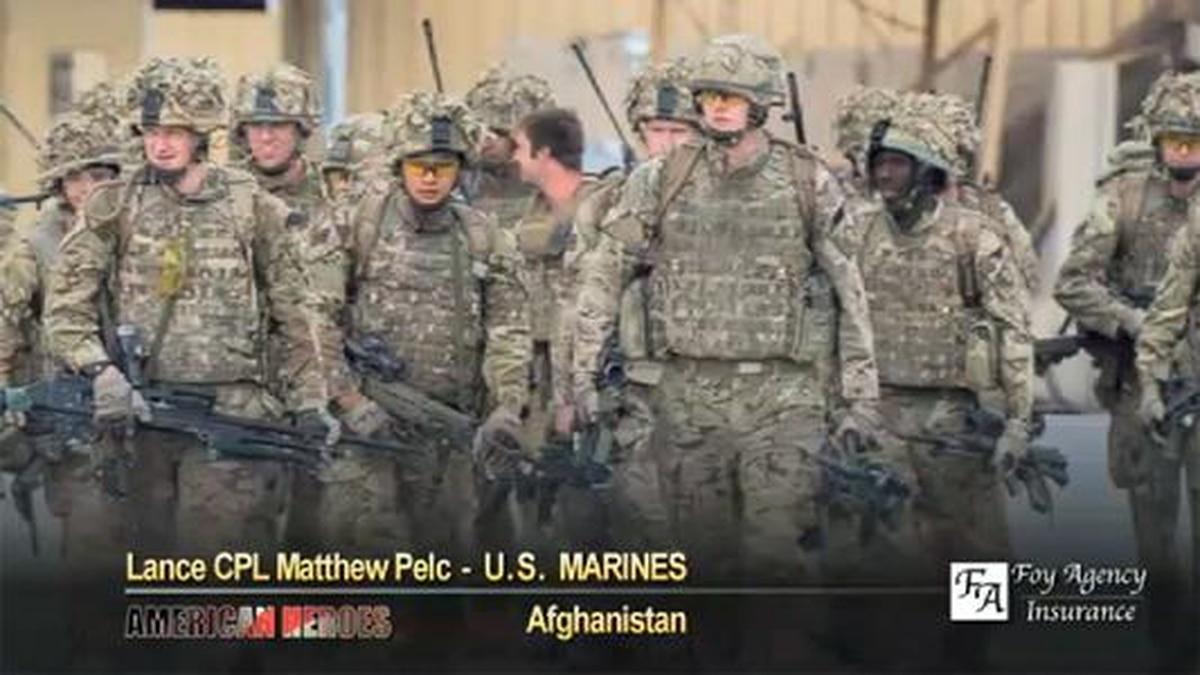 Matthew Pelc: on patrol with Brits