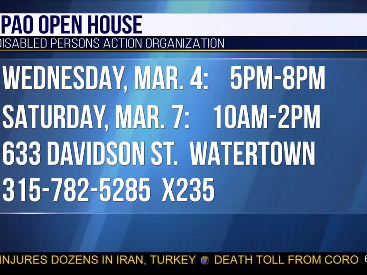 DPAO to host open houses