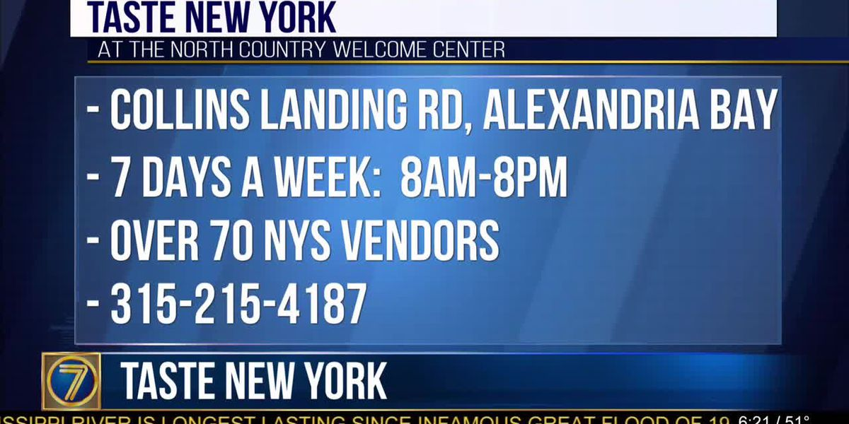 'Taste New York' At Welcome Center
